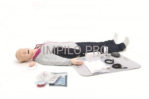 Resusci Anne QCPR AED Full Body Rechargeable (walizka na kółkach)